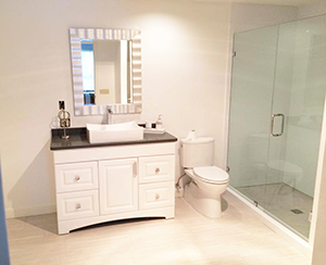 Master bathroom remodel finished in Rochester, Minnesota