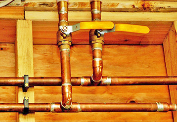 Copper water lines installed in Rochester, MN 55902